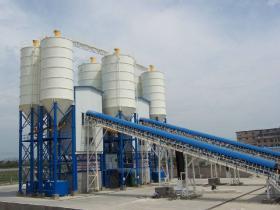 180型混凝土搅拌站一小时能生产多少混凝土?搅拌站的产能怎么计算?