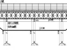 工地现场便道用贝雷架型式钢栈桥基本设计样式及一般参数(可下载)