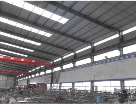 钢结构厂房实景