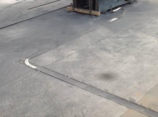 阻燃 PVC 管暗敷实景图